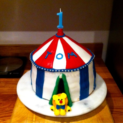 Chocolate Circus Birthday Cake